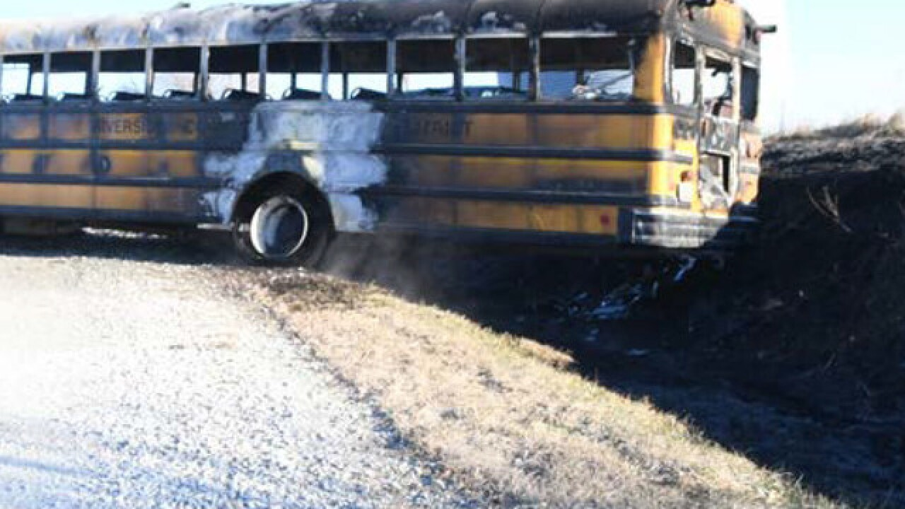 Family of girl killed in school bus fire suing