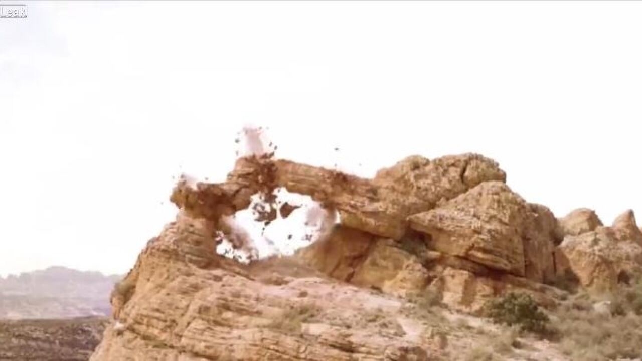 Utah agencies investigating after videos purportedly show destruction of arch formation, hoodoos