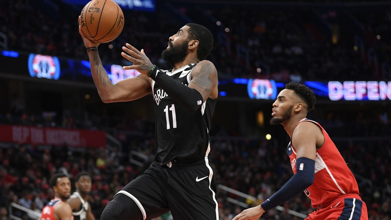Nets Wizards Basketball