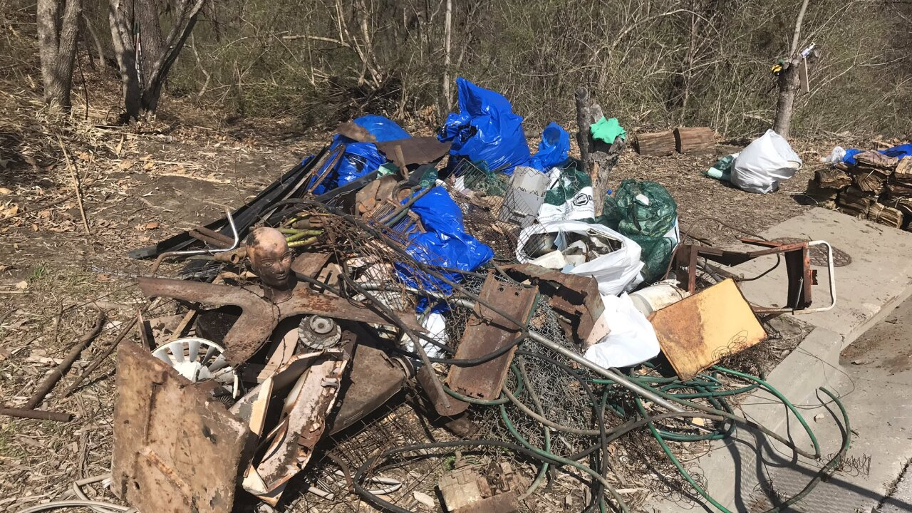 29th Blue River Cleanup gets underway