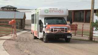 El Paso County and Envida launch public bus service to Calhan