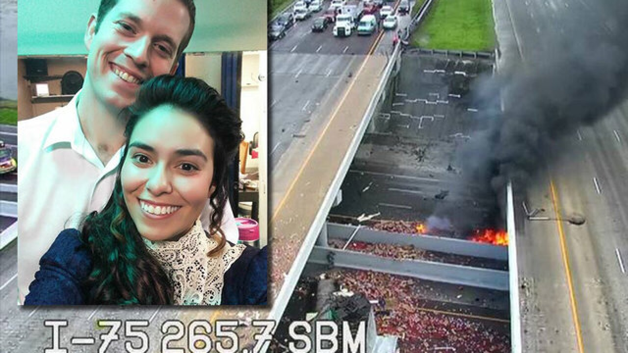 Woman remembers fiancé killed in fiery crash
