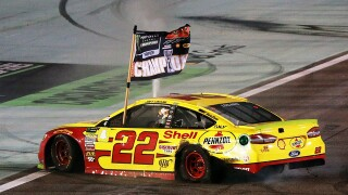 Joey Logano wins first NASCAR Cup Series championship