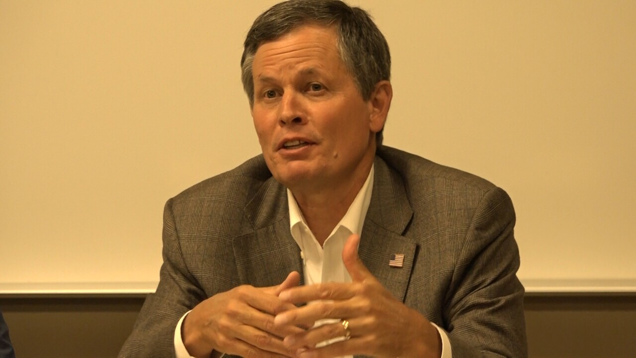 Bullock out-raises Daines 2-to-1 in past six weeks