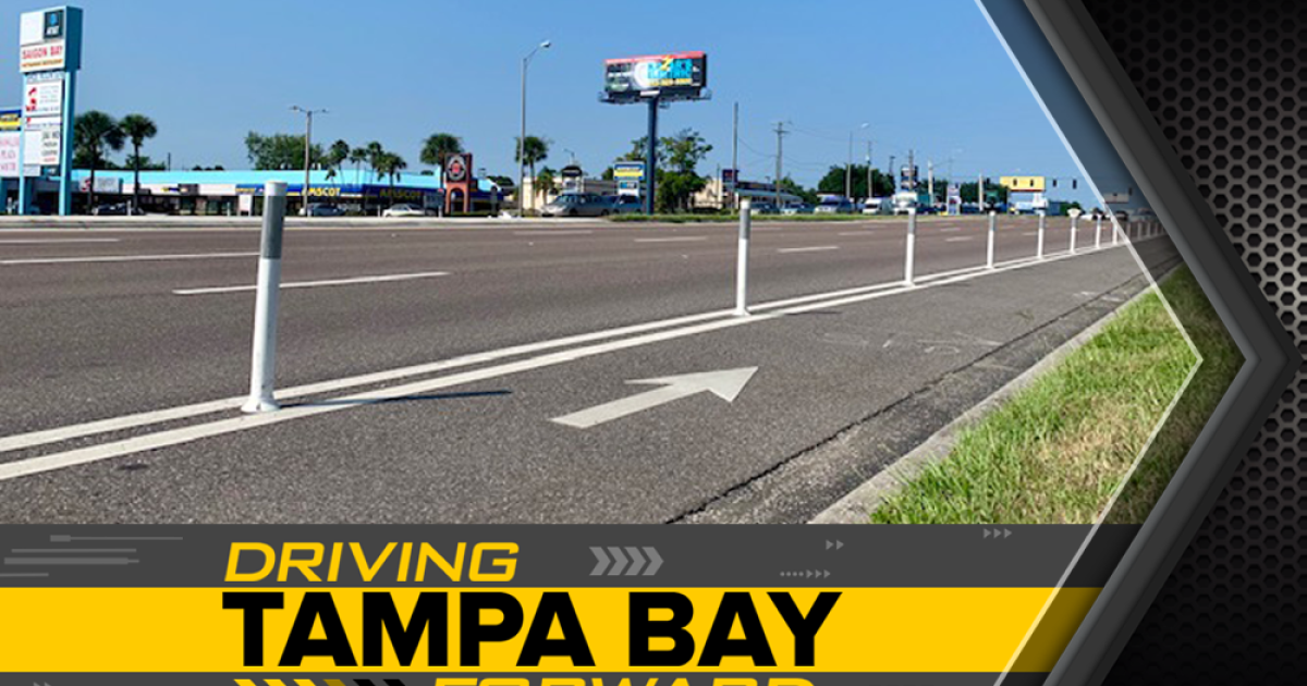 Those white poles on Florida roads are going missing – but FDOT doesn't track how many