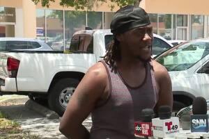 Man speaks out after Sarasota police officer kneels on his neck