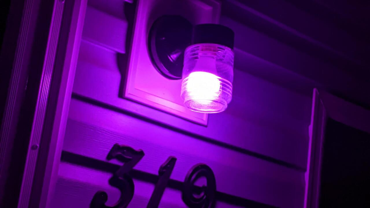 Marsy's Law for Ohio shedding light on domestic violence with purple light campaign