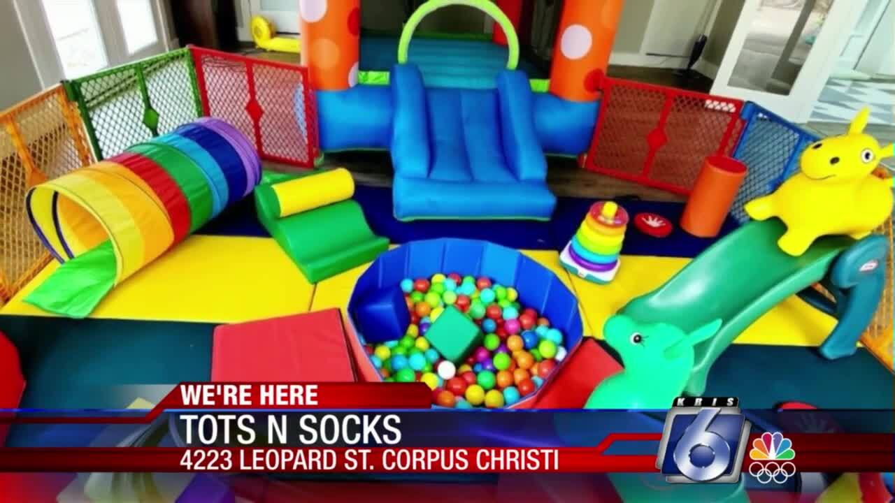 Tots N Socks provides fun activities for kids