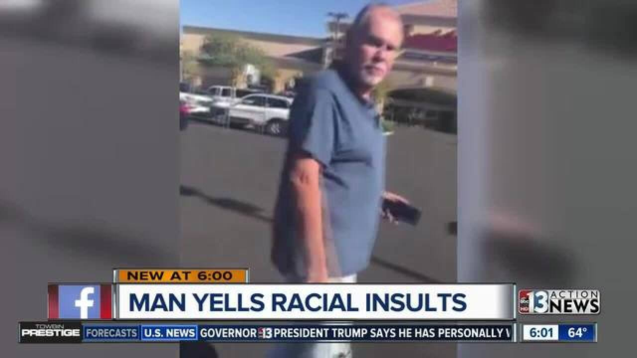 Watch: Man caught on camera hurling racial insults at Spanish speakers in Las Vegas