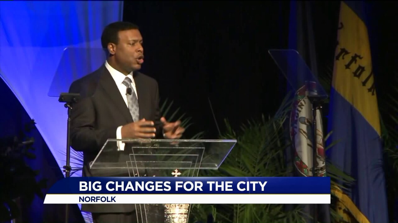 Norfolk Mayor Kenny Alexander announces several projects during State of City Address