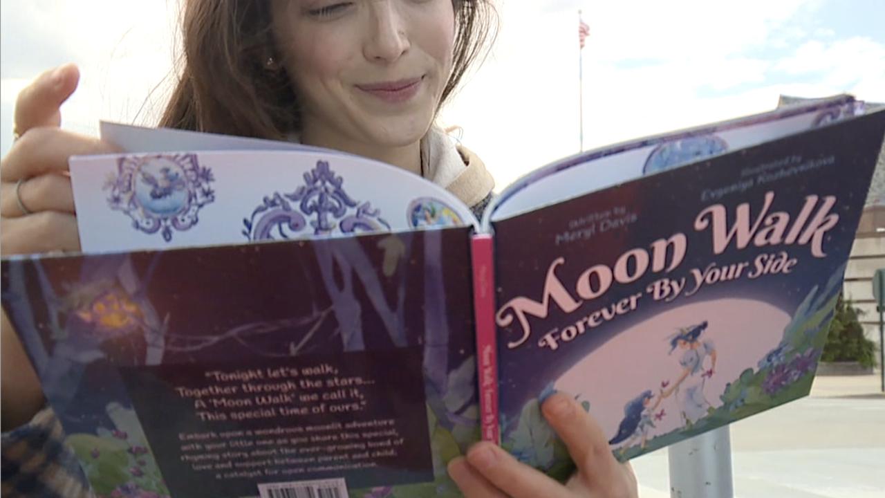 Meryl Davis Moon Walk book