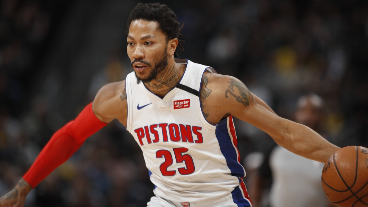 Pistons drop 8th straight  to Nuggets 115-98