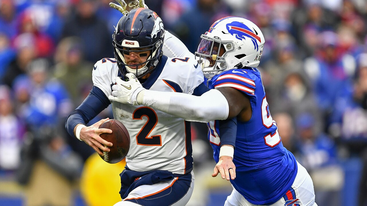 Bills improve to 8-3 following 20-3 win over Broncos