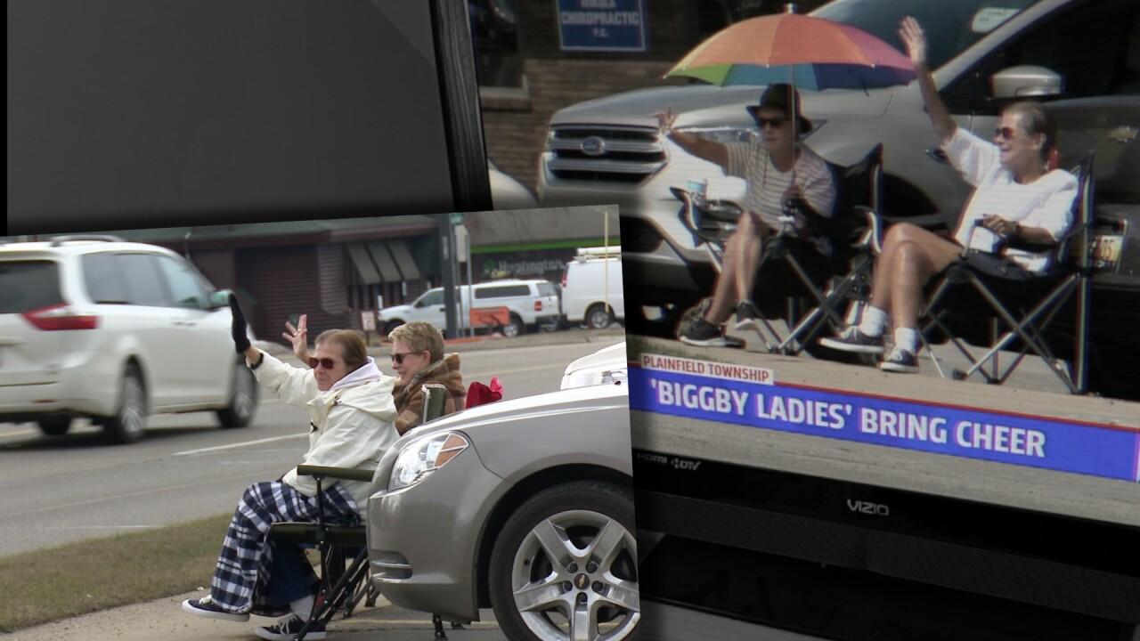 Biggby Ladies back outside