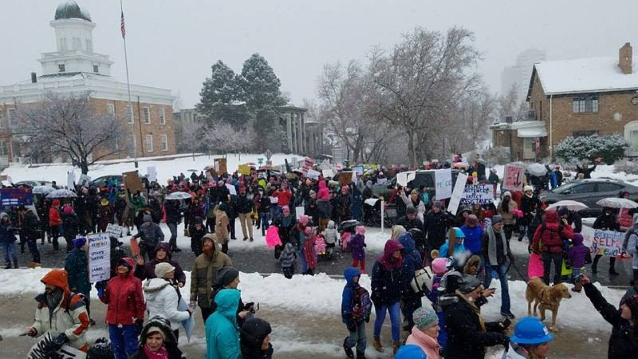 Women's march to Utah StateCapitol