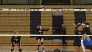 Billings West Volleyball Serve