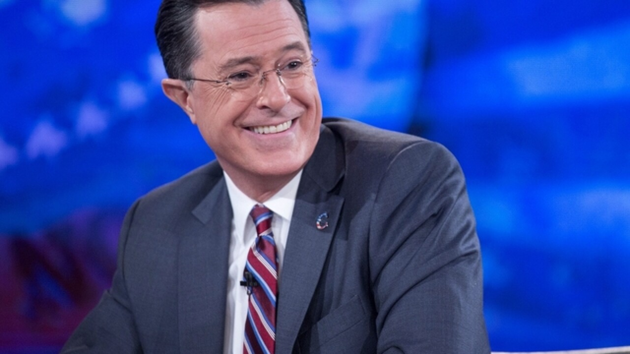 CBS' Stephen Colbert to do election night special on Showtime