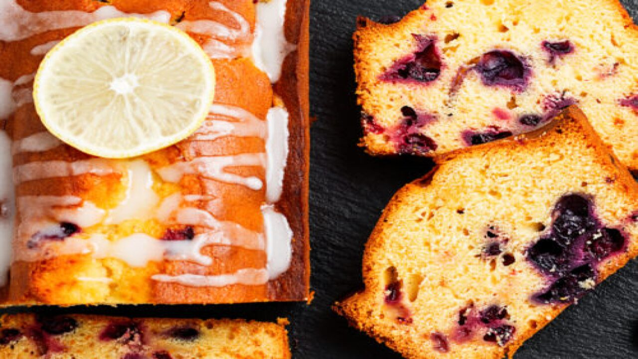 Blueberry-lemon Ricotta Pound Cake Looks Fancy But It's So Easy To Make