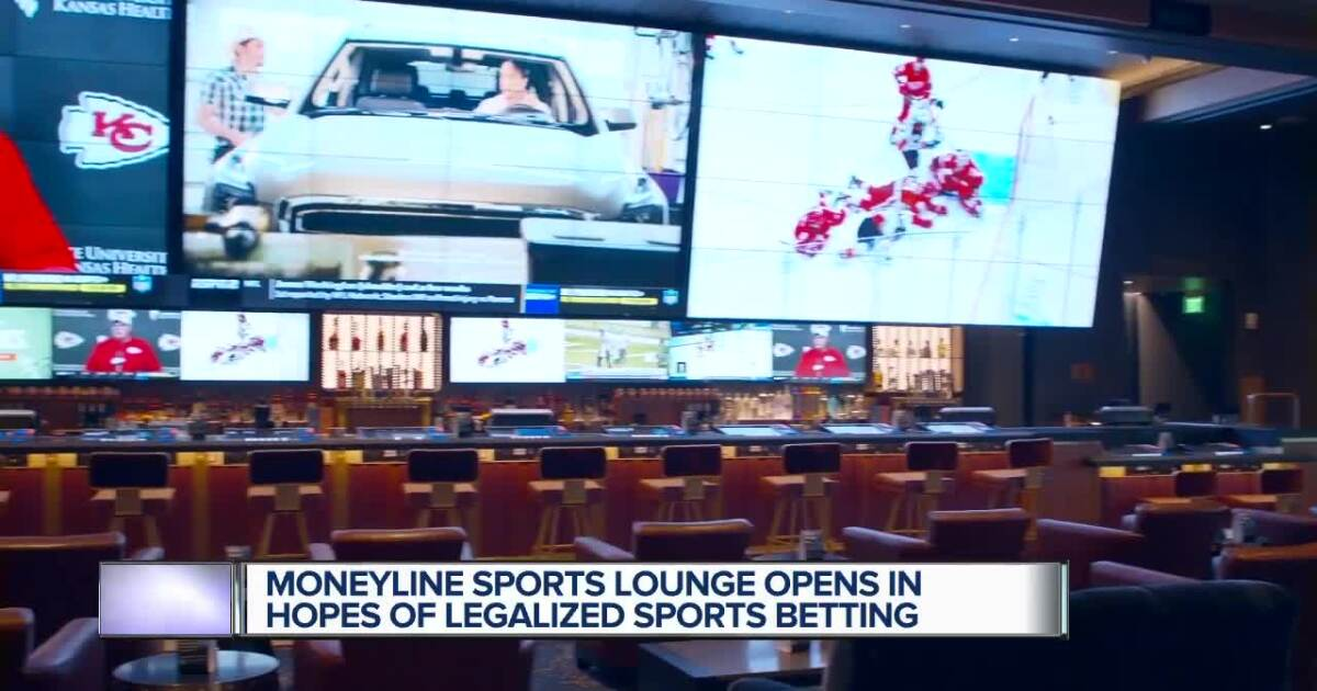 MGM Grand Detroit opens 'Moneyline' with eye on future of sports betting