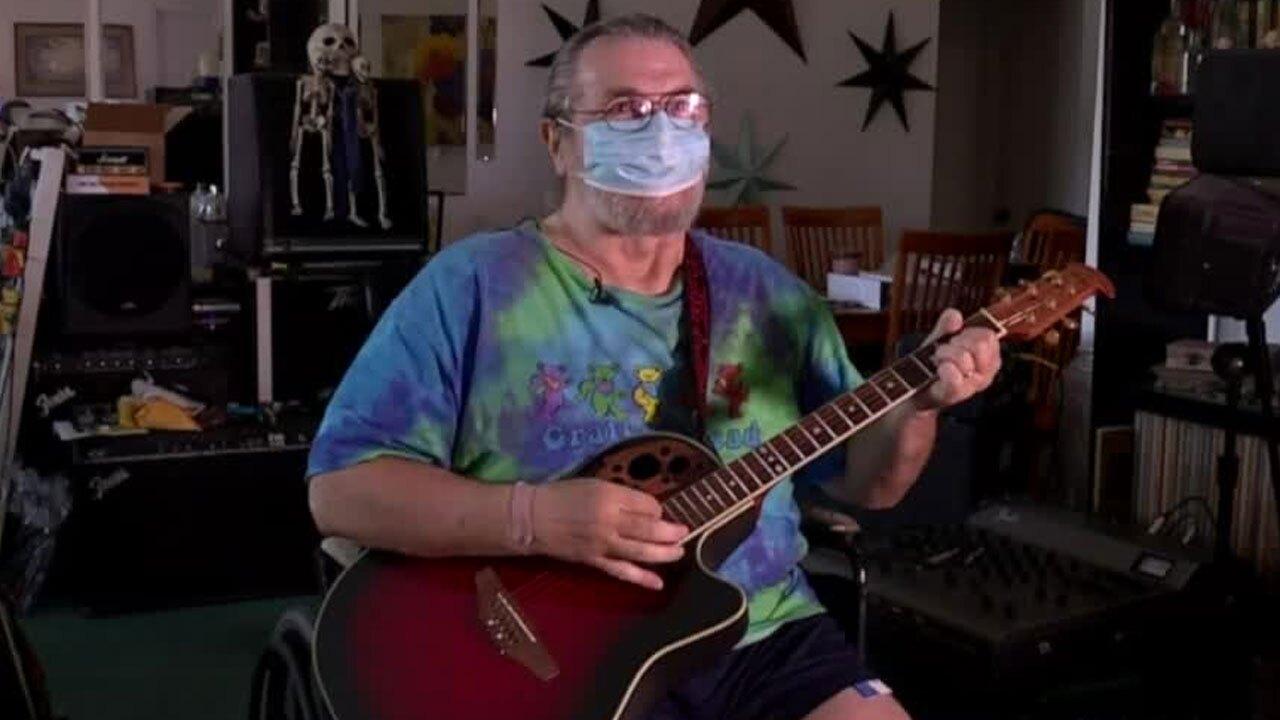 Phillip Evola, homebound patient