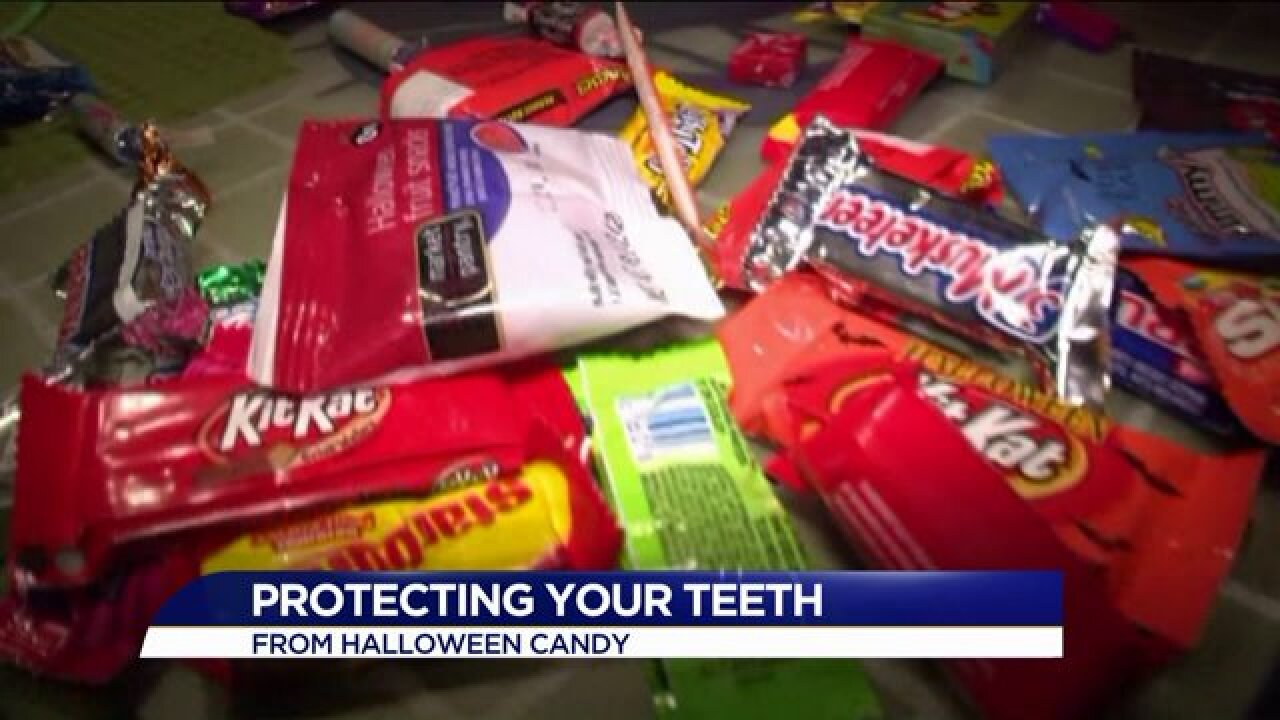 Best Halloween candy for your teeth