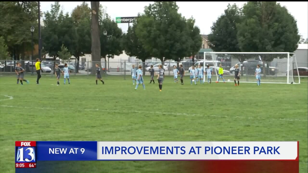 Pioneer Park gets nearly $1 million in upgrades, city hopes it'll be a safer space