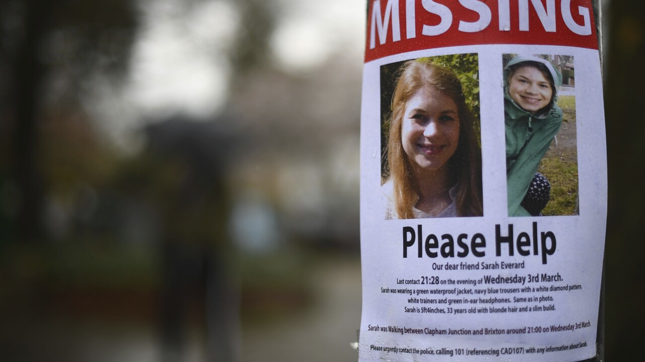 Britain Missing Woman