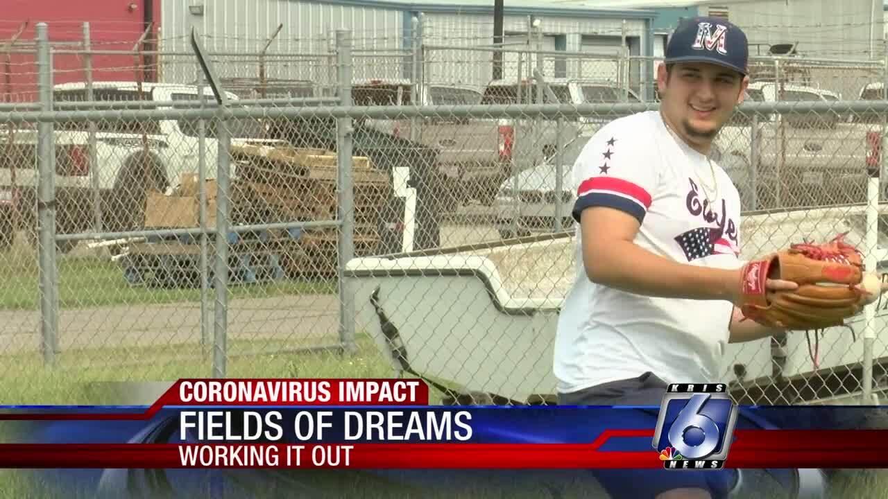 High school athletes still putting in work