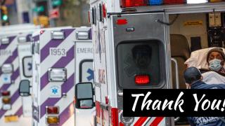 Thank you EMTs