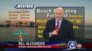 Bill Alexander's forecast for Tuesday, June 15, 2021