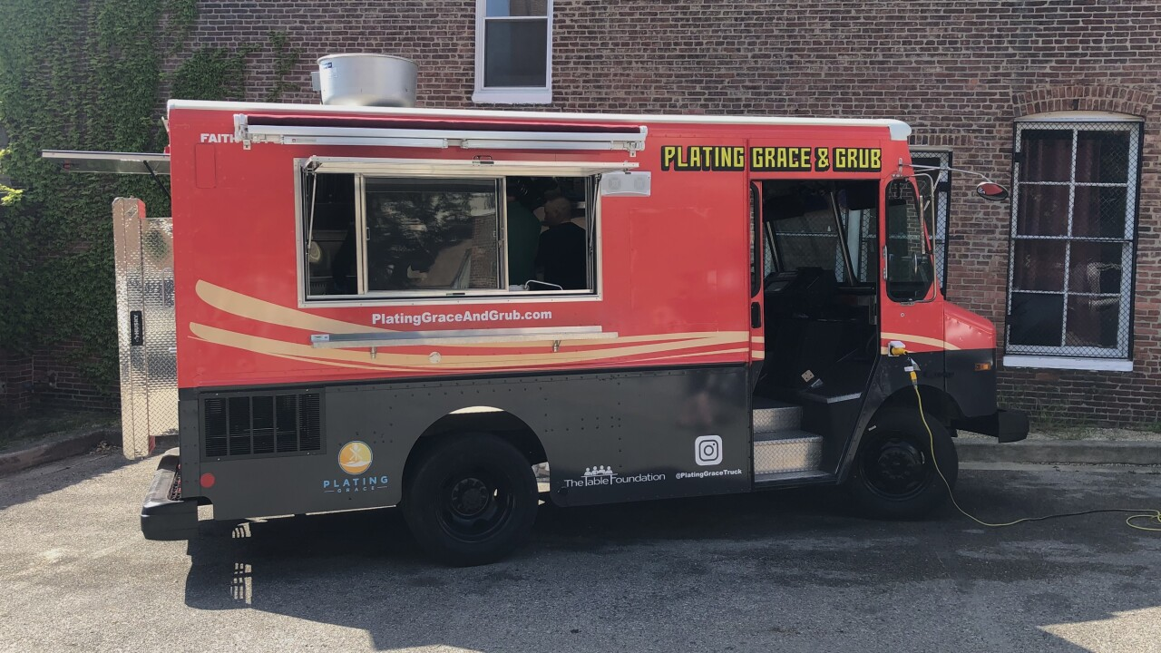 Plating Grace and Grub truck.JPG