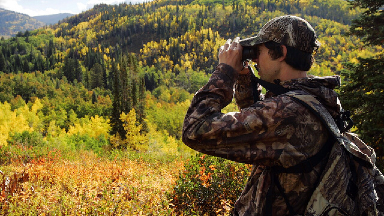 As hunting seasons open nationwide, please make sure you're actually shooting animals