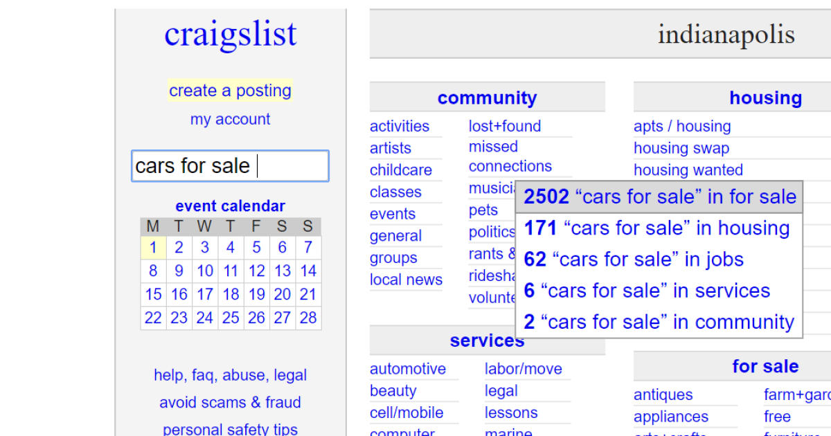 State issues warning about Craigslist car sales involving