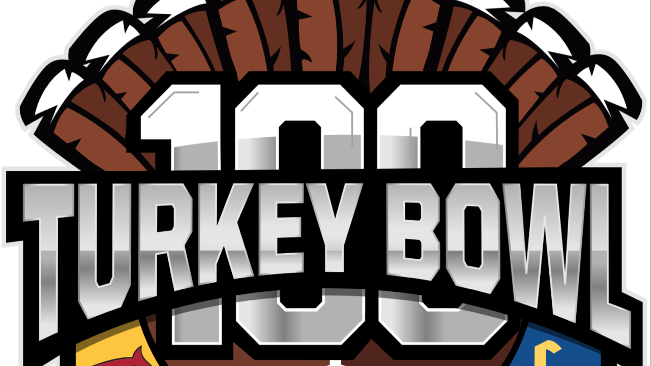Turkey Bowl 100 Logo
