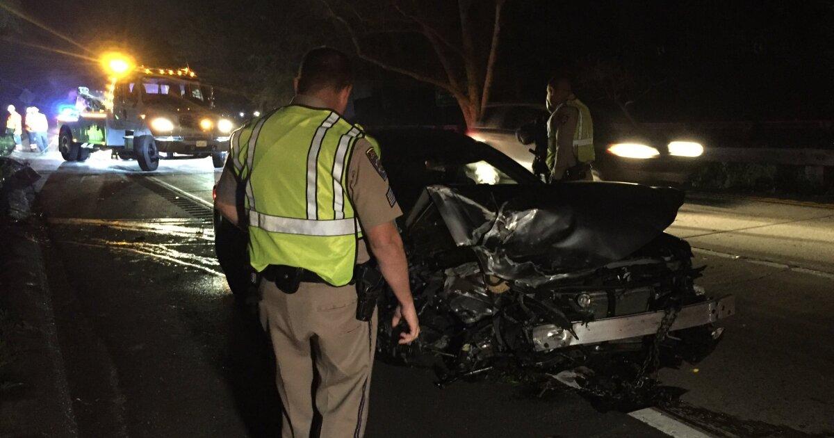 1 dead, 3 injured in fatal crash along SR-163