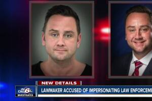 Witness: Indiana state rep flashed a badge, asked for drugs