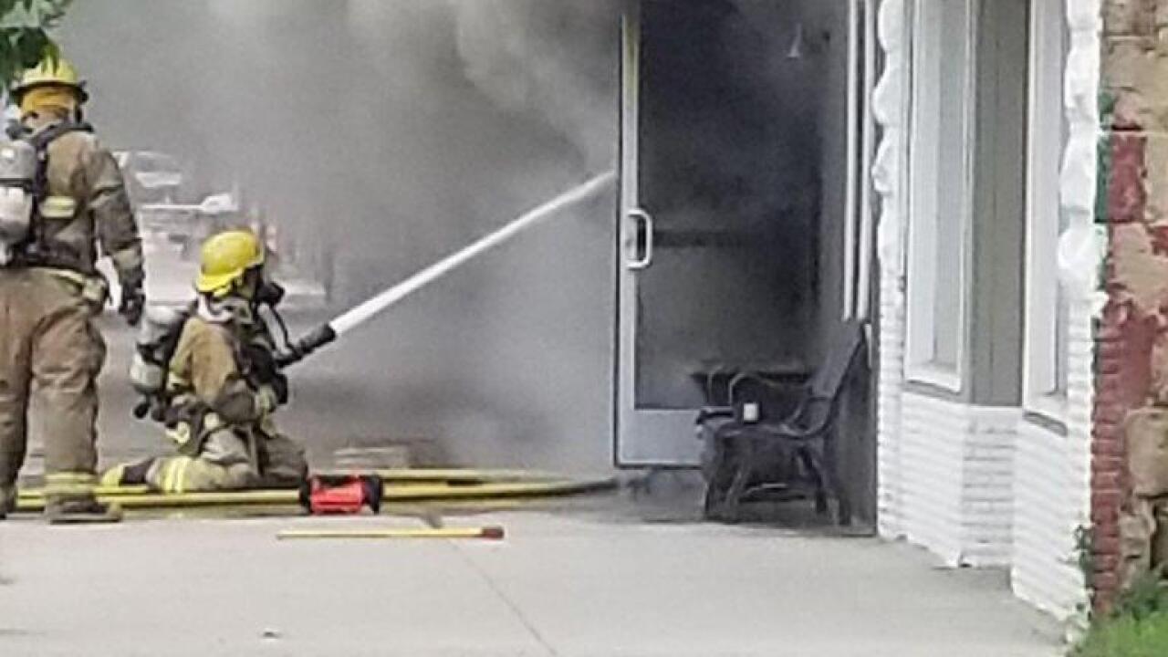 Fire destroys downtown Roundup restaurant