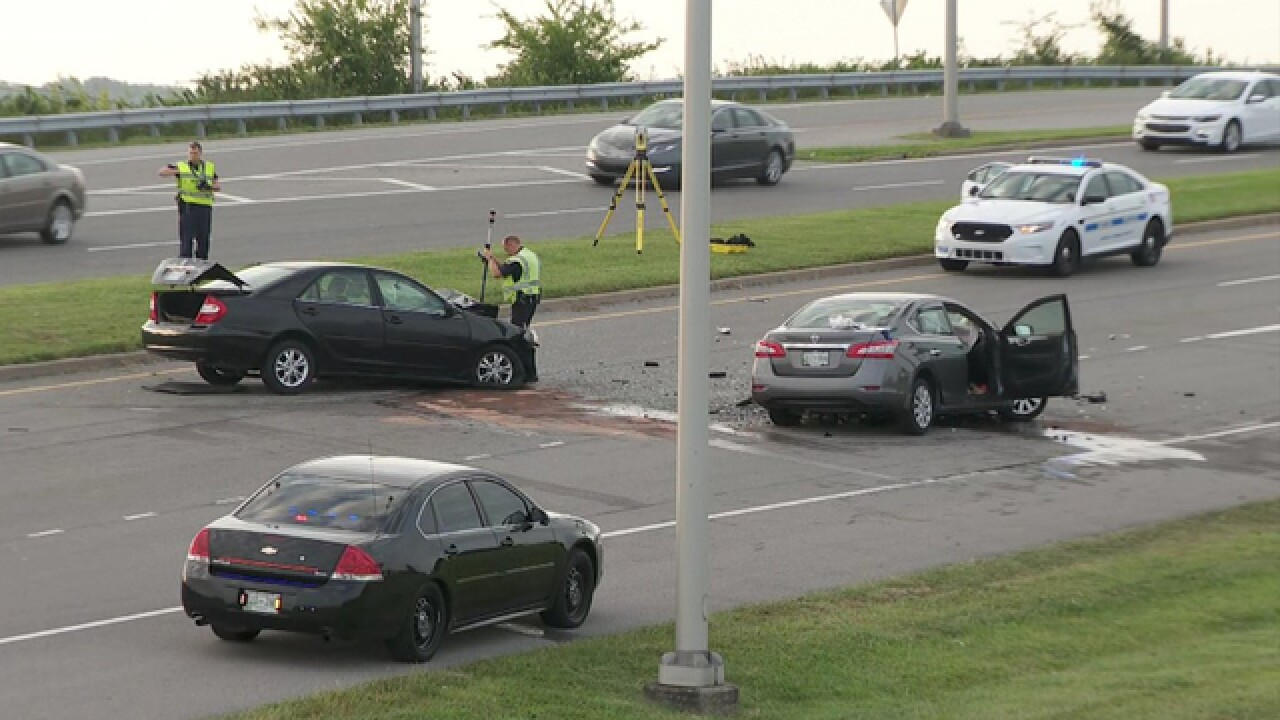 Crash Causing Delays On Donelson Pike Near BNA