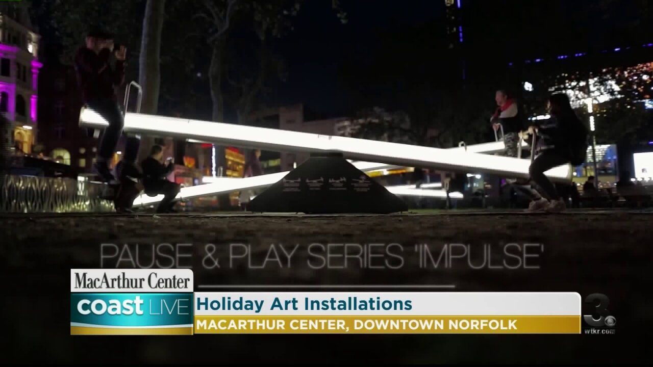 Holiday gifts and special events at MacArthur Center on CoastLive