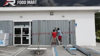 Florida Prepares For The Arrival Of Hurricane Dorian