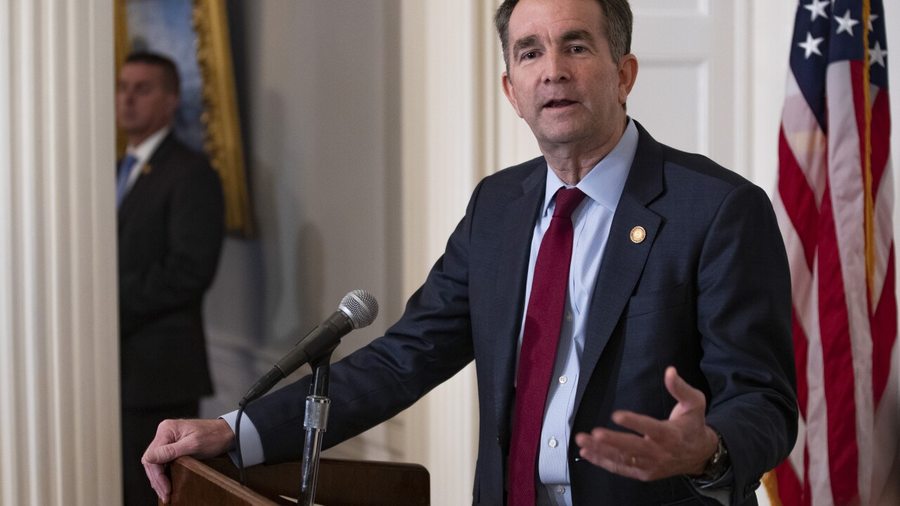 Northam to declare temporary emergency, ban guns from Capitol Grounds