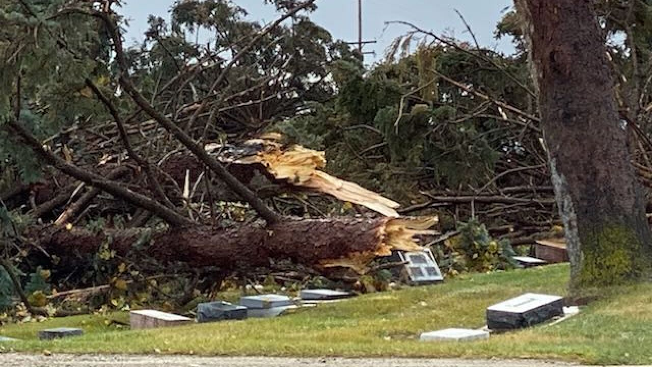 Thousands without power after gusty winds