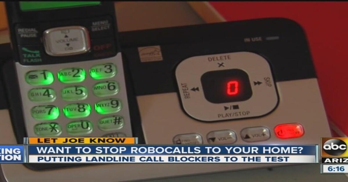 Enter your phone number to see if robocall company owes you
