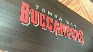 PHOTOS: New Buccaneers Stadium Club, locker room, retail store