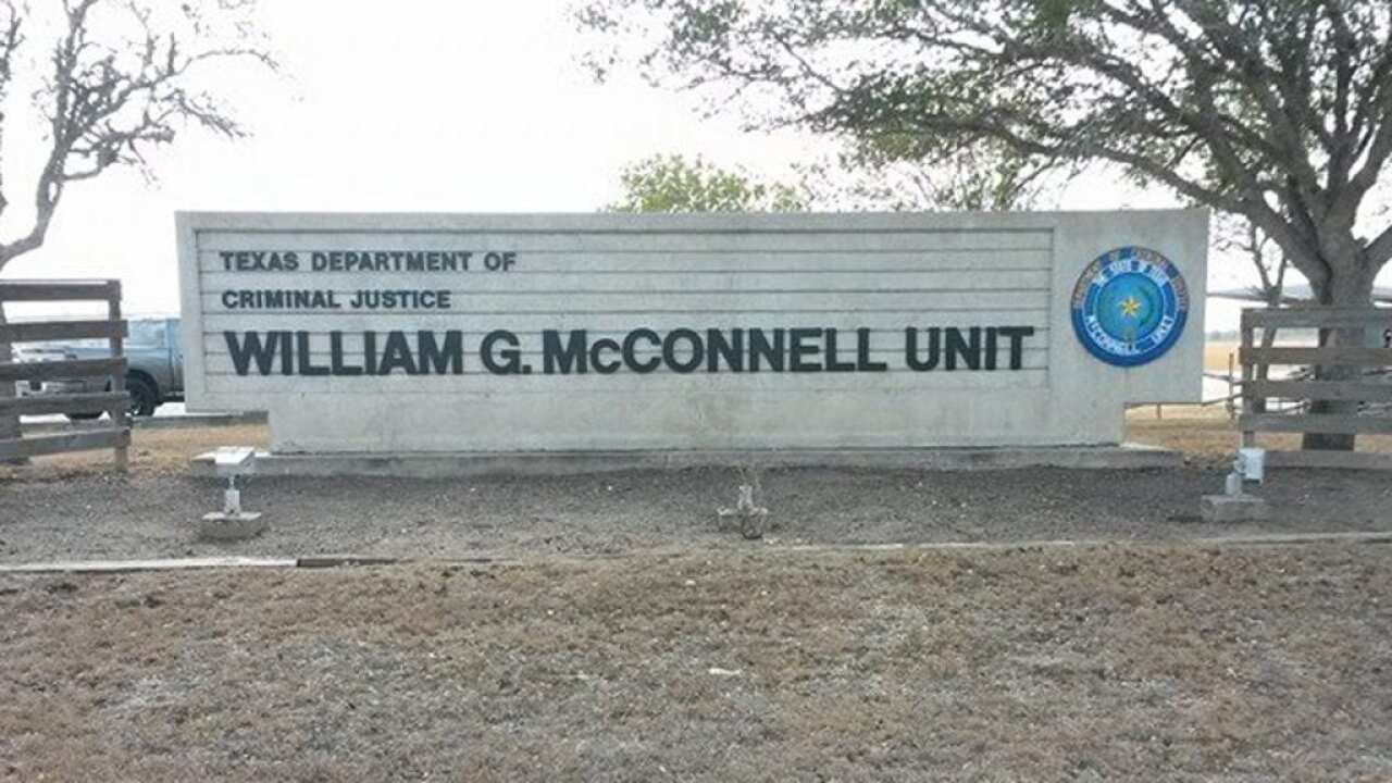 A guard is recovering after being attacked by an inmate at the William G. McConnell Correctional Unit in Beeville.
