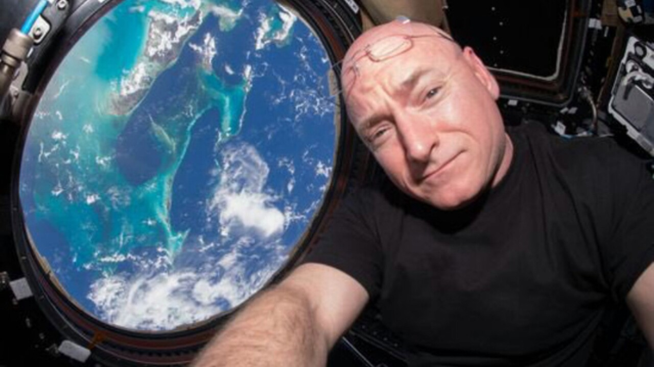 Astronaut Scott Kelly is set to return to Earth