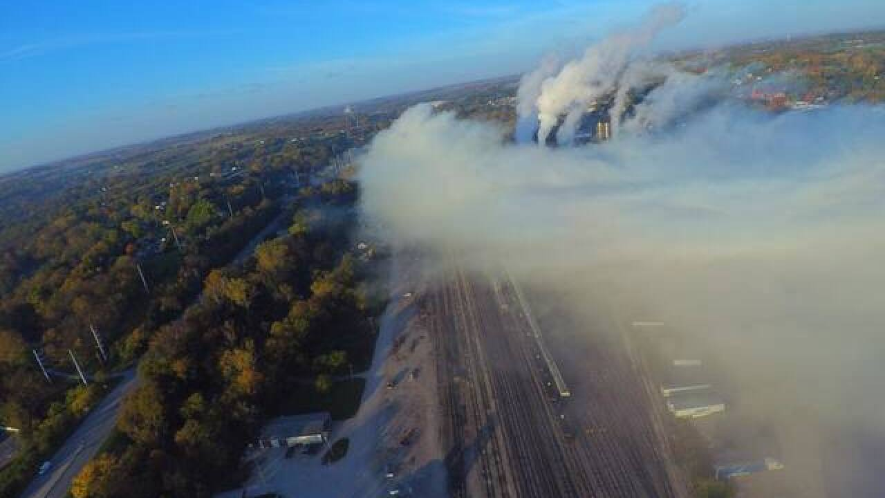 Major chemical spill reported in Atchison, KS