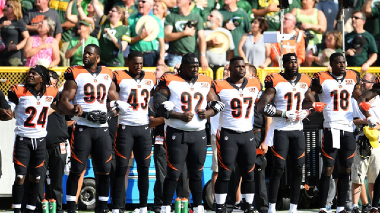 NFL protests to Trump comments draw mixed reaction