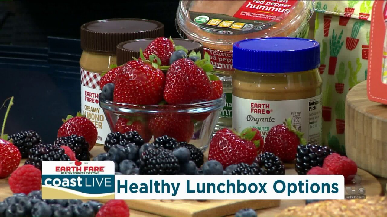 A lesson in packing a well-balanced lunch with Earth Fare on Coast Live
