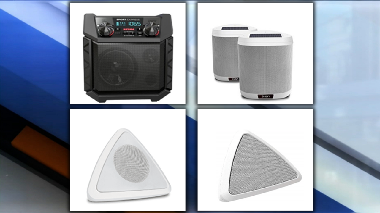 ION Audio portable speakers recalled due to hydrogen gas leak causing explosion hazard